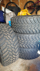 4 AMP  Terrain Master tires. Barely used