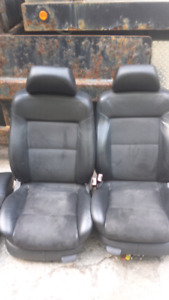 VW PASSAT SUEDE AND LEATHER SEATS