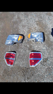Ford f150 head lights and tail lights