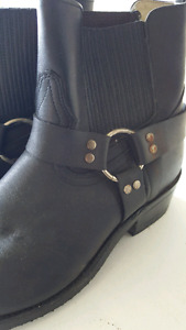 Men's motorcycle boots-size 9.5