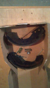 brake shoes and springs