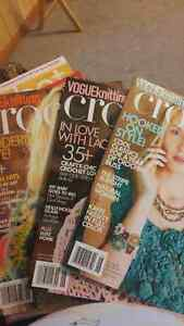 13 crochet magazines. 15 for lot. Prince George British Columbia image 1