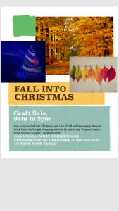 Fall into Christmas Craft Sale....Vendors required
