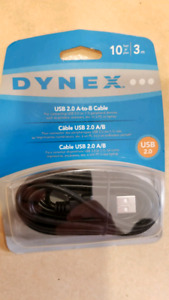 Dynex USB 2.0 A-to-B Cable