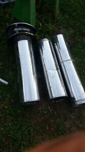 stainless steeel insulated stove pipes