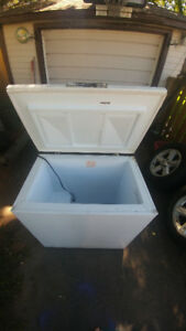 Large chest style freezer 60$