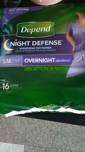 Depends Night Defense underwear