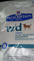 WD hill's prescription dog food