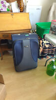 suitcase with matching tote
