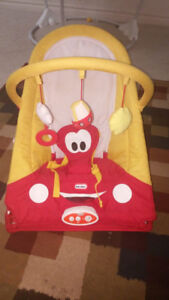Baby bouncy used a few times in good condition $40