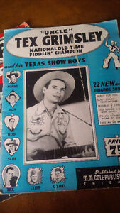 Vintage Country Music Song Books Kitchener / Waterloo Kitchener Area image 4