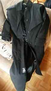 Irving Posluns Black Over Coat