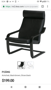 IKEA Armchair Leather Almost New
