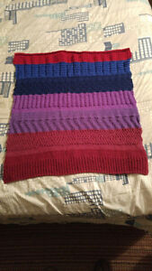 Hand-knitted wheelchair blankets OR Baby blankets