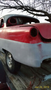 1953 Meteor coupe  no rust  on S10 350 HP 700 R4 w/ air bags