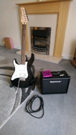 Yamaha pacifica 112JL (Left handed) With AMP