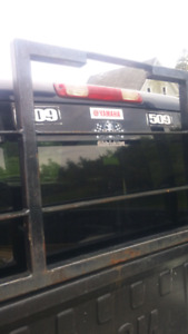 Back rack for sale its on my 05 chev extented cab asking $100 ph