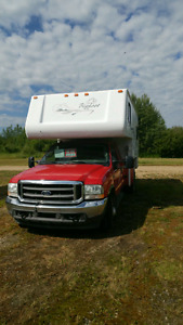 FOR SALE ****2001 BIG FOOT TRUCK CAMPER & 2004 FORD SUPER DUELLY