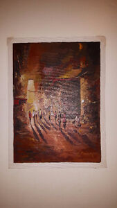 Original Nepal Oil Paintings Vancouver Greater Vancouver Area image 3