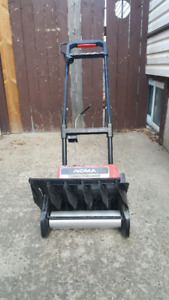 Mini snowblower