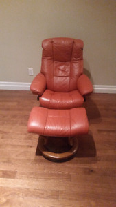 THE ONE & ONLY WORLD FAMOUS EKORNES STRESSLESS CHAIR & OTTOMAN !