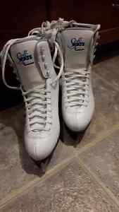 Size 10 Ladies' Figure Skates Kitchener / Waterloo Kitchener Area image 2