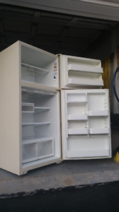 Exellent Two Door, Top Freezer Refridgerator