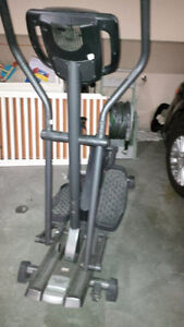 Great elliptical for sale any reasonable offer will be accepted