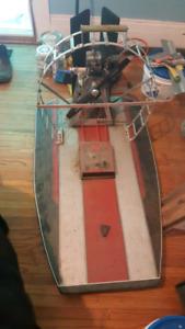 Rc GAS fan boat