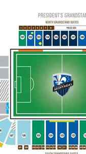 Impact soccer tickets