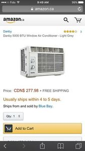 Danby 5000 BTU Window Air Conditioner Unit
