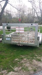 Aluminum trailer 4000 obo