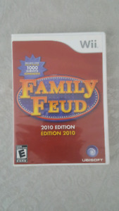 Nintendo Wii family fued