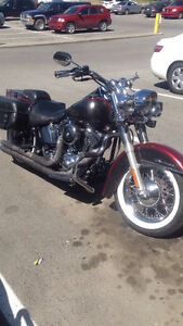 Selling my softail deluxe