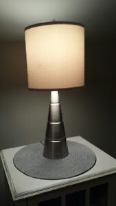 PAIR OF TRI TABLE LAMPS