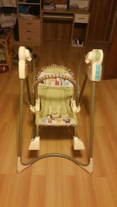 Fisher Baby Automatic Swing Set