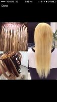 POSE D'EXTENSIONS DE RALLONGES/HAIR EXTENSIONS
