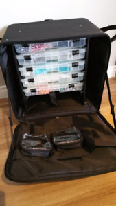 Valise CROP IN STYLE - ideal pour bijoux ou scrapbooking!