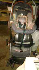 Baby stroller with car set and a high chair Cambridge Kitchener Area image 5
