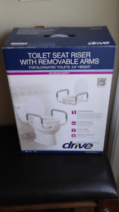 Drive  - Toilet Seat Riser with Removable Arms