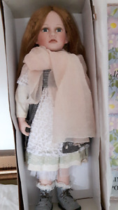 Limited Edition ----- Large Porcelain  Doll