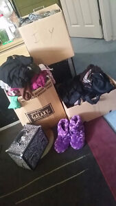 Bags, clothing, makeup trunk,shoes ect