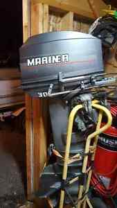 30hp Mariner with controls REDUCED TO 800 from a 1000