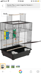 Kaytee play n Learn cage for Parakeet