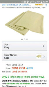 Grand Hotel Collection King size blanket