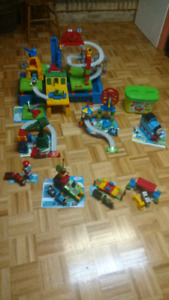 Lots Mega Blocks Thomas le train