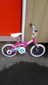 Toddler princess bike 10.00
