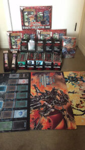 Yugi's Collector Box + Yugioh Playmat + Sleeves