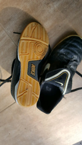 Nike indoor soccer shoes  - size 3Y