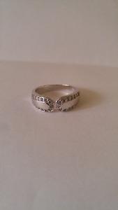 7 Silver rings